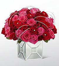 The FTD ® Blushing Extravagance™ Luxury Bouquet by Kalla™