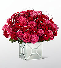 The FTD ® Blushing Extravagance™ Luxury Bouquet by Kalla™ - VASE INCLUDED