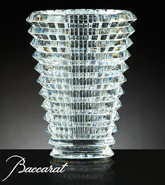 Baccarat® Crystal Eye Vase