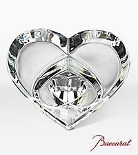 Baccarat&reg; Crystal Heart Paperweight