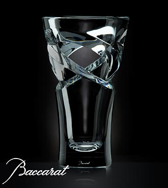 Baccarat&reg; Crystal Tornado Vase