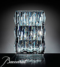Blushing Sentiments Orchid Bouquet in Baccarat ® Crystal Vase