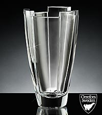 Orrefors Crystal Arctic Vase