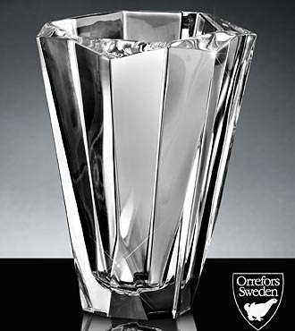 Orrefors Crystal Precious Vase