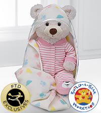 Sweet Dreams Baby Girl Bear by Build-A-Bear Workshop&reg;