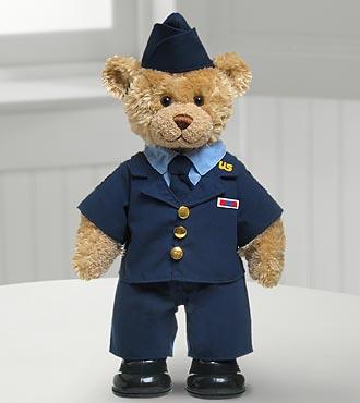 Air Force Hero Bear by Build-A-Bear Workshop