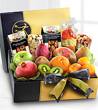 The FTD&reg; Gourmet Fruit & Nuts Gift Box