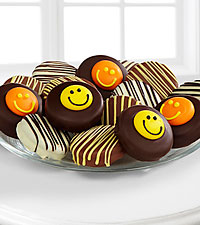Shari 's Berries™ Limited Edition Chocolate Dipped Smile Sensation Oreo ® Cookies