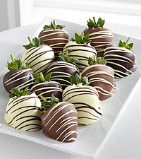 Golden Edibles&#153; Classic Belgian Chocolate Covered Strawberries
