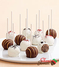 Red Velvet, Cookie, & Peanut Butter Cake Pops