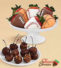 10 Father 's Day Cherries & Sports Strawberries