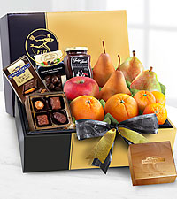 The FTD ® Gourmet Fruit & Chocolates Gift Box