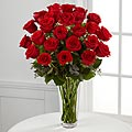 The FTD&reg; Long Stem Red Rose Bouquet with Vase