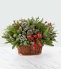 Evergreen Dream Holiday Basket
