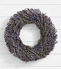 Lavender Wreath Preserved