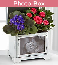 Blooming Keepsake Photo Box