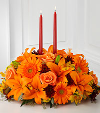 The FTD ® Bright Autumn™ Centerpiece