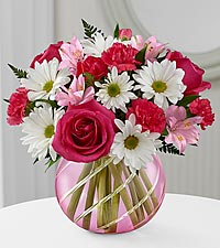 The FTD ® Perfect Blooms™ Bouquet - VASE INCLUDED