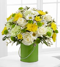 The Color Your Day With Joy&trade; Bouquet by FTD&reg; - VASE INCLUDED