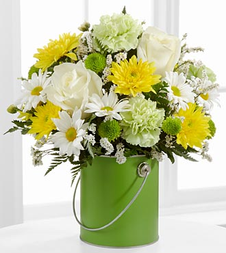 The Color Your Day With Joy™ Bouquet by FTD® - VASE INCLUDED
