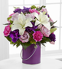 The Color Your Day With Beauty™ Bouquet by FTD ® - VASE INCLUDED