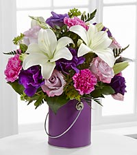 The Color Your Day With Beauty&trade; Bouquet by FTD &reg; - VASE INCLUDED