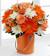 The Color Your Day With Laughter™ Bouquet by FTD ® - VASE INCLUDED