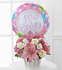 The Girls Are Great!™ Bouquet by FTD ® - BASKET INCLUDED