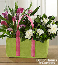 The FTD ® Let Love Grow Calla Lily & Gardenia Plant Duo by Better Homes and Gardens ®