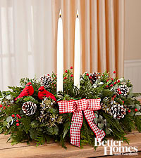 The FTD ® Comfort & Joy Holiday Centerpiece by Better Homes and Gardens ®