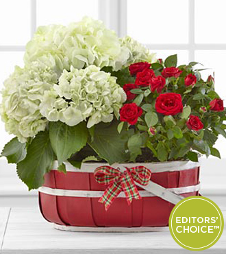 The FTD® Heart-filled Basket by Better Homes and Gardens® - Better