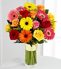 Le bouquet Pick-Me-Up<sup>&trade;</sup> de FTD� - VASE INCLUS