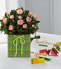 Hello Spring Mini Rose with Candy
