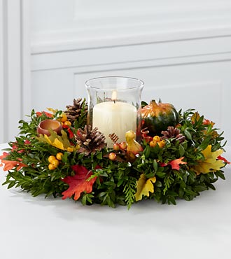 Harvest Blessings Autumn Centerpiece