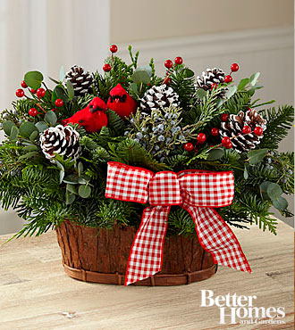 Special basket Better homes and gardens christmas special