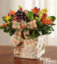 The FTD ® Forest Floor Harvest Centerpiece by Better Homes and Gardens ®