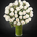 Clarity Luxury Rose Bouquet - 48 Stems of 26-inch Premium Long-Stemmed Roses - VASE INCLUDED