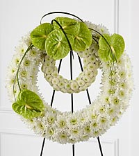 The FTD&reg; Wreath of Remembrance&trade;