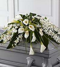 The FTD&reg; Angel Wings&trade; Casket Spray