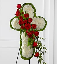 The FTD ® Floral Cross Easel