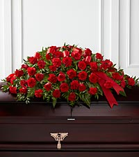 The FTD ® Dearly Departed™ Casket Spray
