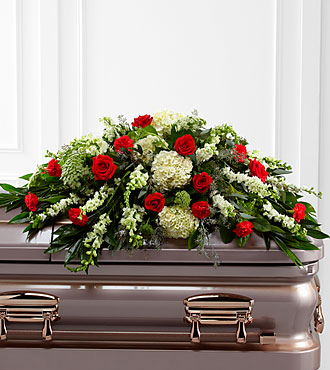 The FTD&reg; Sincerity&trade; Casket Spray