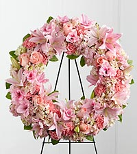 The FTD ® Loving Remembrance™ Wreath