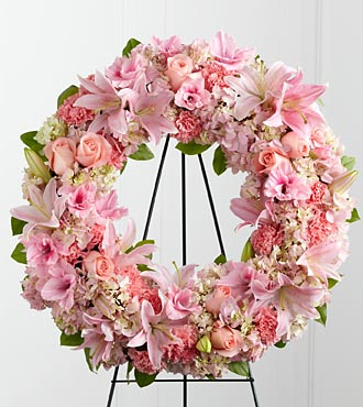 The FTD&reg; Loving Remembrance&trade; Wreath