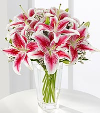 The FTD ® Pink Lily Bouquet