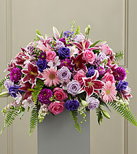 The FTD ® Fare Thee Well™ Pedestal Arrangement