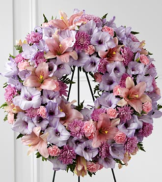 The FTD&reg; Sleep in Peace&trade; Wreath