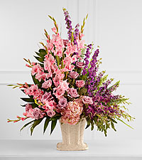 The FTD ® Flowing Garden™ Arrangement