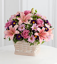 The FTD ® Loving Sympathy™ Basket