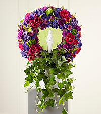 The FTD ® Faith & Understanding™ Wreath